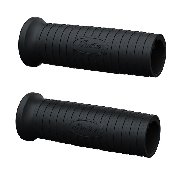 10-Setting Heated Handlebar Grips in Black, Pair
