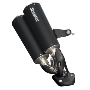 Low Mount Slip-On Exhaust -Black by Akrapovič