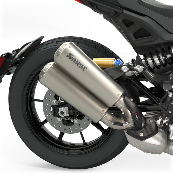 Low Mount Slip-On Exhaust by Akrapovič