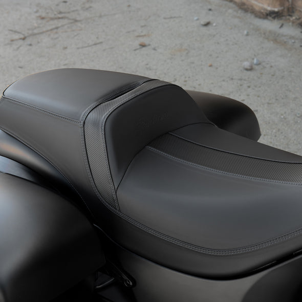 All-Weather Vinyl Extended Reach Rogue Seat -Black