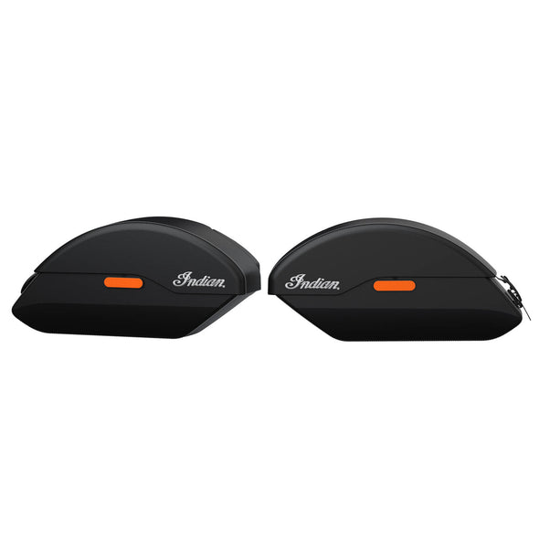 Quick Release Semi-Rigid Saddlebags -Black