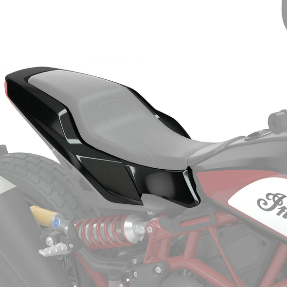 Tracker Seat Base Cowl - Thunder Black Pearl
