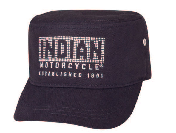 Women's Diamante Hat, Black by Indian Motorcycle®