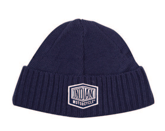 Shield Patch Beanie, Blue by Indian Motorcycle®