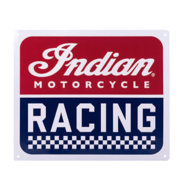 INDIAN MOTORCYCLE® RACING SIGN