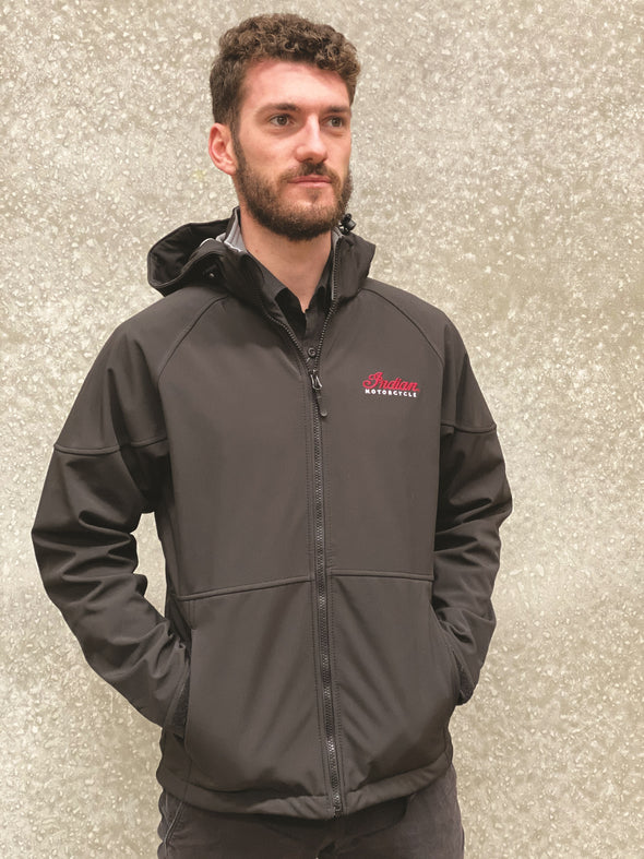 Men's Indian Softshell Jacket -Black