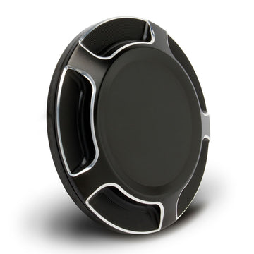 Beveled Gas Cap For Scout® - Black