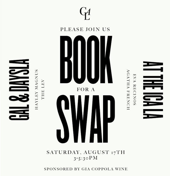 Book Swap with Girls at Library—Saturday, August 17th, 3-5:30pm