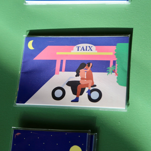 Sex in LA postcards (set 1)
