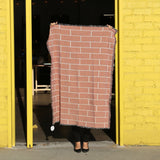 Brick Throw Blanket