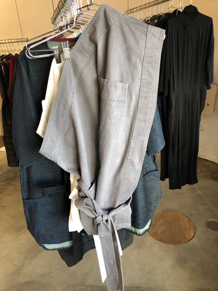 Butcher Apron Grey