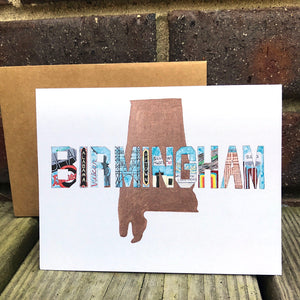 Birmingham Alabama Card