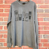 Long Sleeve Drink Local T-shirt