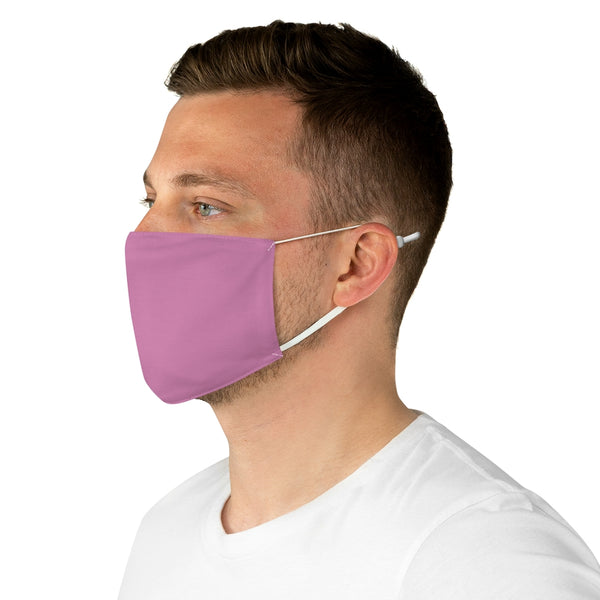 Small Logo Fabric Face Mask (Pink)