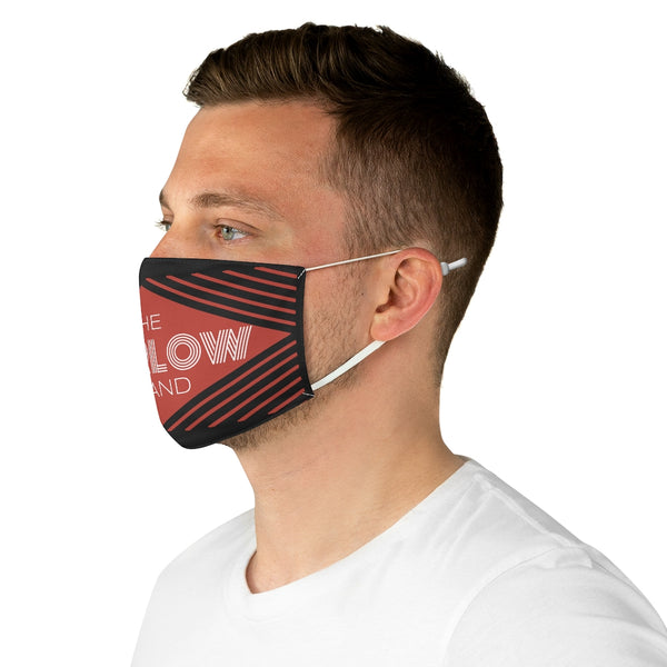 The Marlow Brand Logo Fabric Face Mask