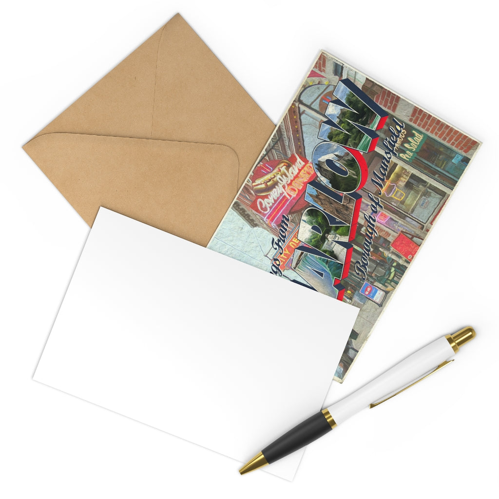 Marlow Heights Postcards w/Envelopes (7 pcs)