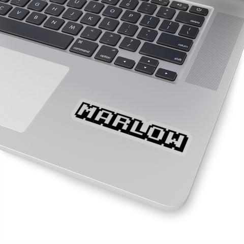 8-Bit Marlow Kiss-Cut Stickers