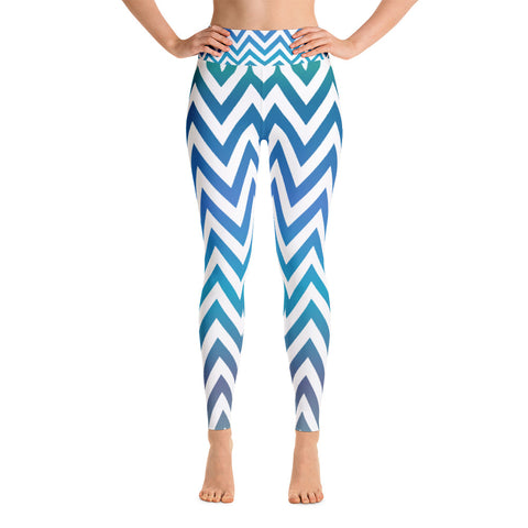 Blue Hues Yoga Leggings