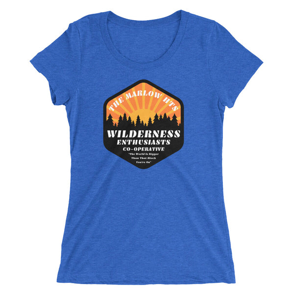 Women's Wilderness Enthusiasts Scoopneck Tee