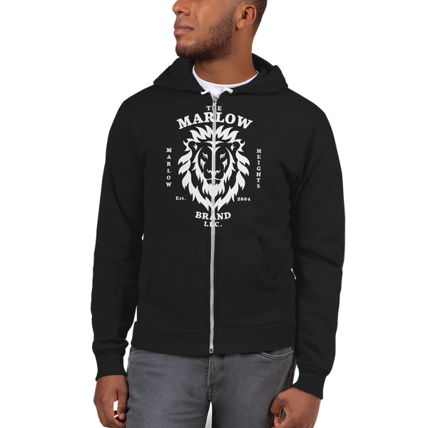 The Marlow Brand Lion Zip-Up Hoodie