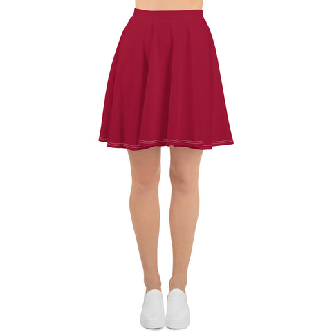 Jester Red Skater Skirt