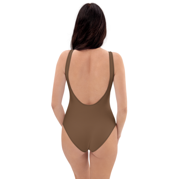 Toffee One-Piece Swimsuit