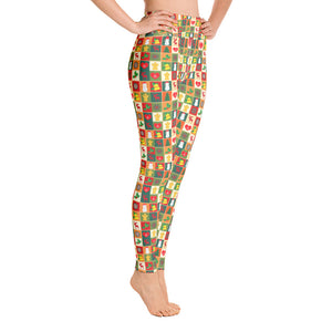 Christmas Pattern Yoga Leggings