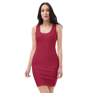 Jester Red Cut & Sew Dress