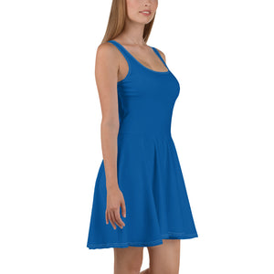 Princess Blue Skater Dress