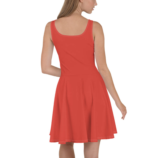 Fiesta Red Skater Dress