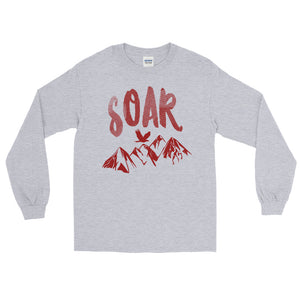 Soar Red Long Sleeve T-Shirt