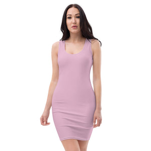 Sweet Lilac Cut & Sew Dress