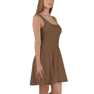 Toffee Skater Dress