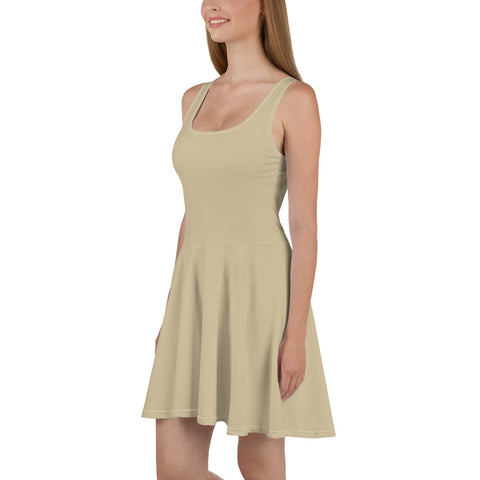 Soybean Skater Dress