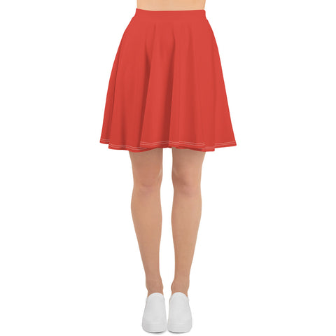 Fiesta Red Skater Skirt