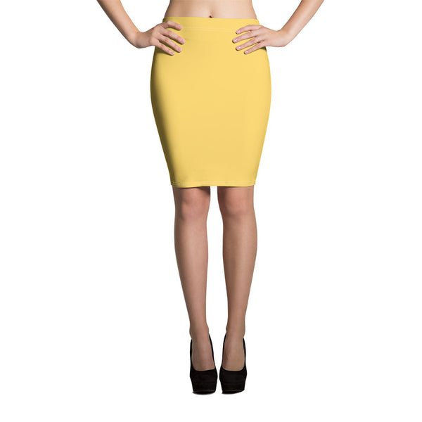 Aspen Gold Pencil Skirt