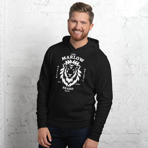 The Marlow Brand Lion Lightweight Hoodie