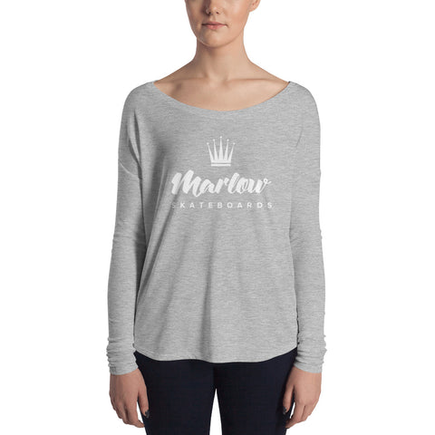 Ladies' Marlow Skateboards Long Sleeve Tee