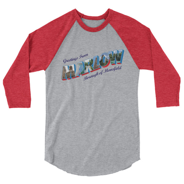 Ladies' Marlow Postcard Baseball Tee