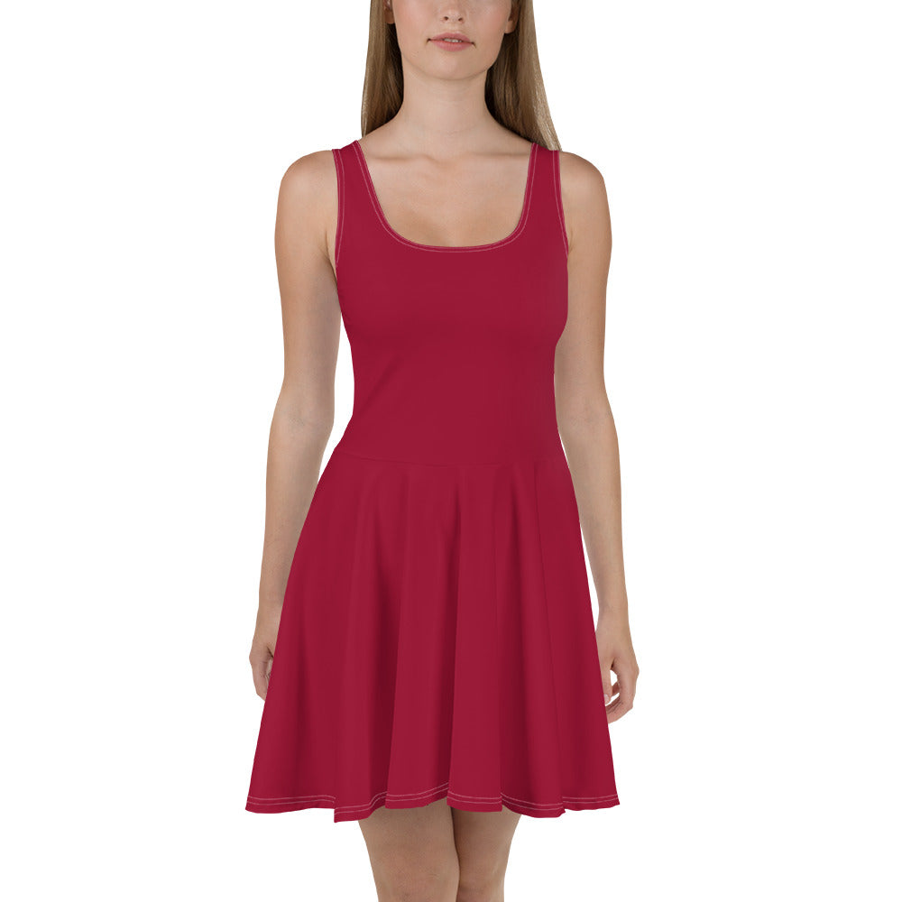 Jester Red Skater Dress