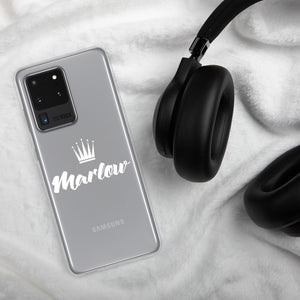 Marlow Crown Logo Samsung Case (S10- S20 Ultra)