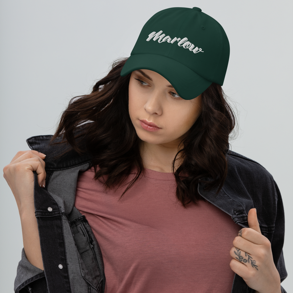 Marlow Font Dad Hat