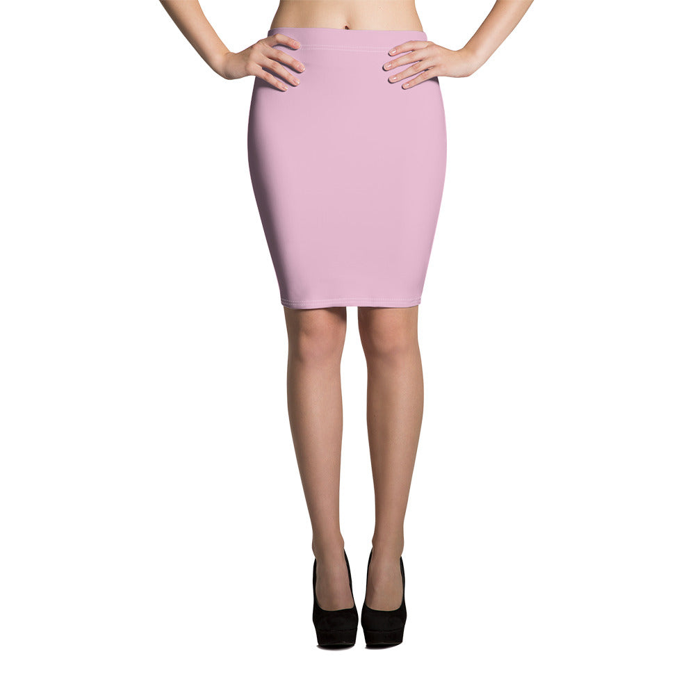 Sweet Lilac Pencil Skirt