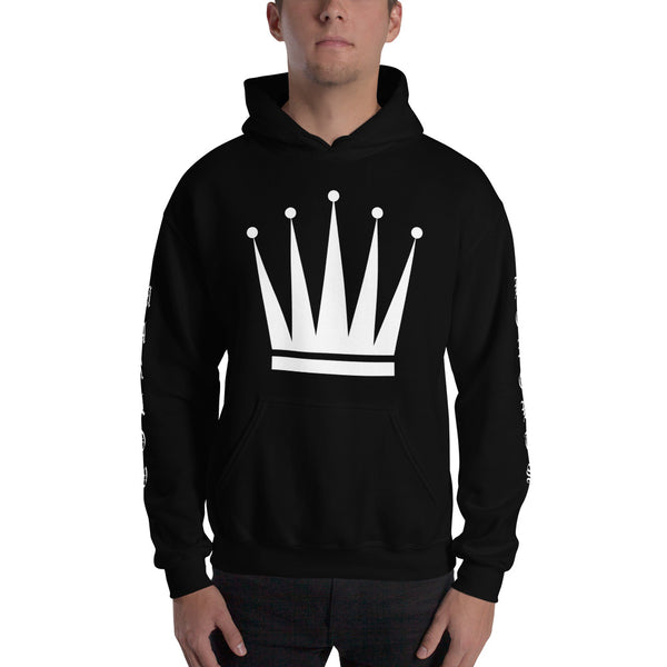 Marlow Crown Printed Sleeves Hoodie