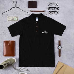 Marlow Crown Logo Embroidered Polo Shirt
