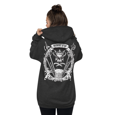Family Crest Zip-Up Hoodie