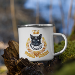 Gold Magic Enamel Mug