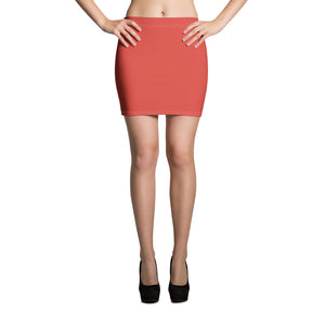 Fiesta Red Mini Skirt