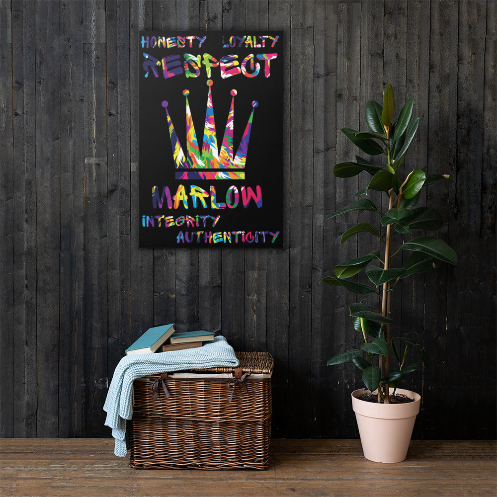 The 5 Core Principles Canvas Wall Art