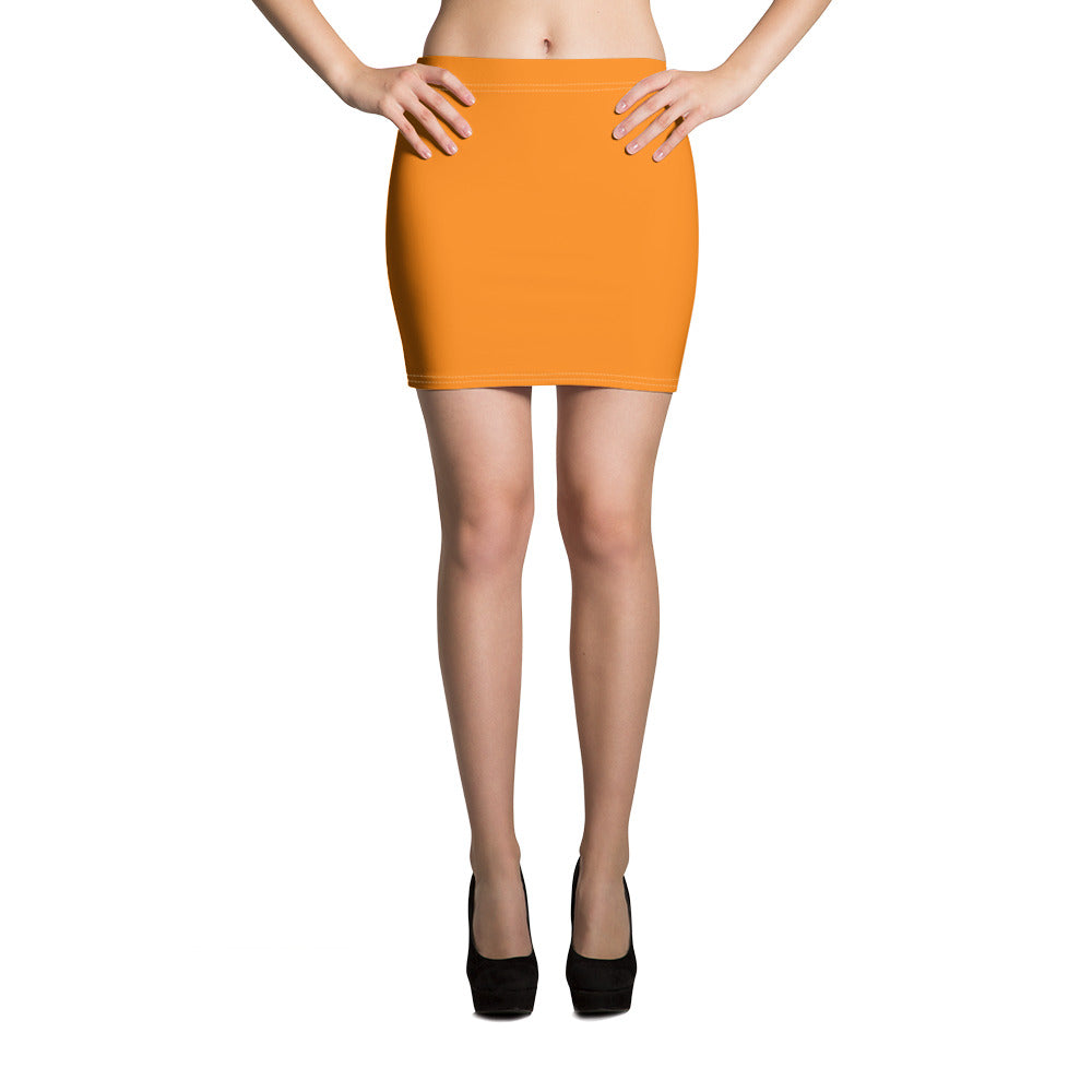 Turmeric Mini Skirt